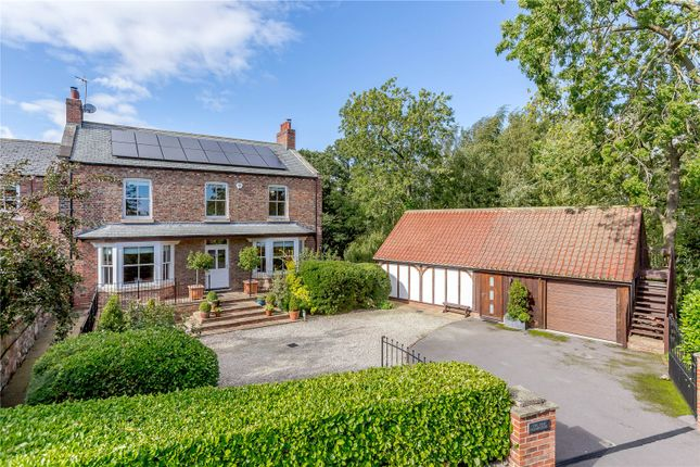 Thumbnail Link-detached house for sale in Poplar Farm, Wormald Green, Harrogate, North Yorkshire