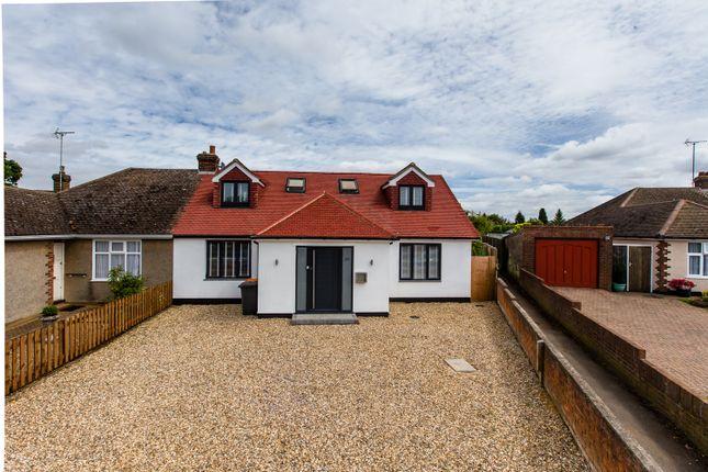 Thumbnail Semi-detached bungalow for sale in Hawthorn Crescent, Caddington, Luton