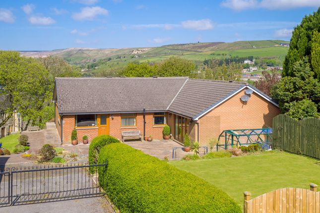 Thumbnail Detached bungalow for sale in Carrs Road, Marsden, Huddersfield