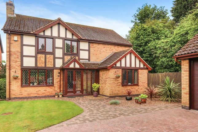 Thumbnail Detached house for sale in Wentworth Green, Kirby Muxloe