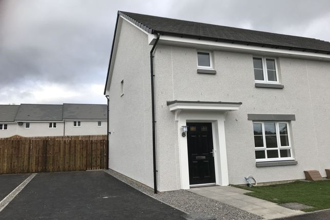 Thumbnail 3 bed semi-detached house to rent in Eilean Donan Road, Inverness