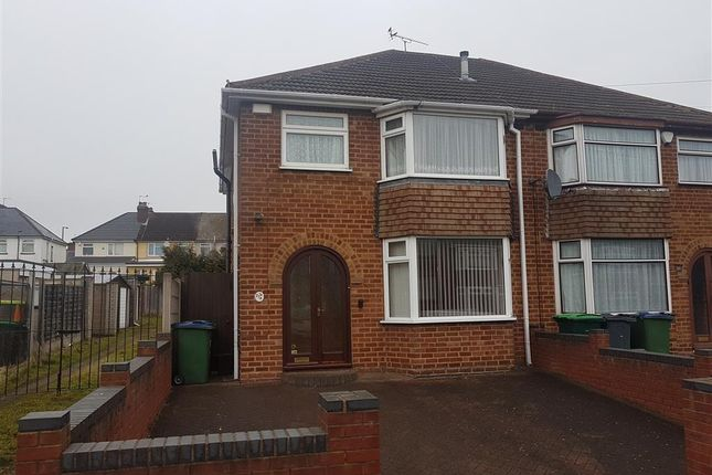 Thumbnail Property to rent in Jubilee Avenue, West Bromwich