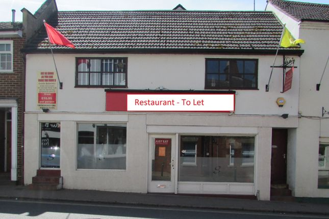 Thumbnail Restaurant/cafe to let in Bridge Street, Leighton Buzzard