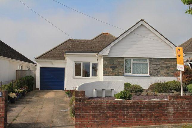 Thumbnail Detached bungalow for sale in Ridgeway Road, Newton Abbot