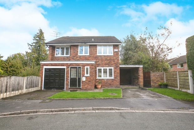 Thumbnail Detached house to rent in Moorfield Drive, Wilmslow