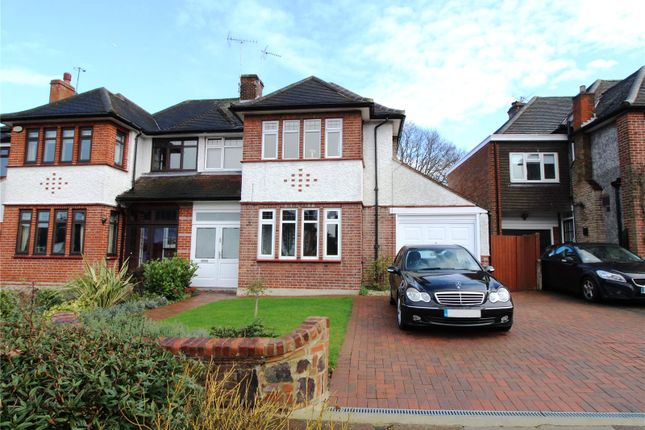 Thumbnail Semi-detached house for sale in The Ridgeway, Southgate