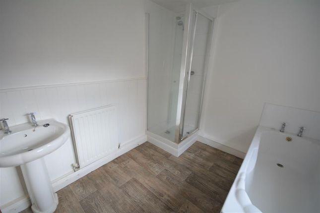 Bathroom of David Terrace, Coronation, Bishop Auckland DL14