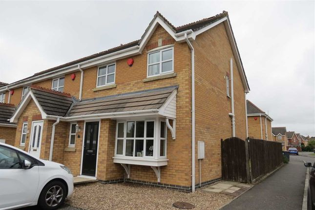 Thumbnail End terrace house to rent in Juniper Way, Sleaford