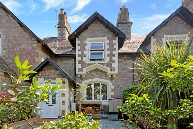 Thumbnail Terraced house for sale in Vane Hill Road, Torquay