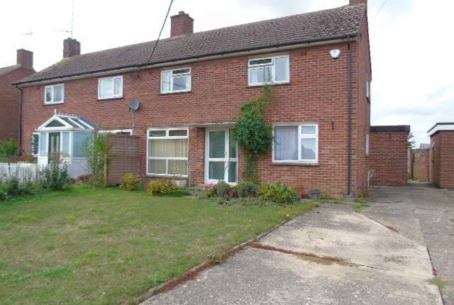 3 bed semi-detached house for sale in Queens Close, Combs, Stowmarket