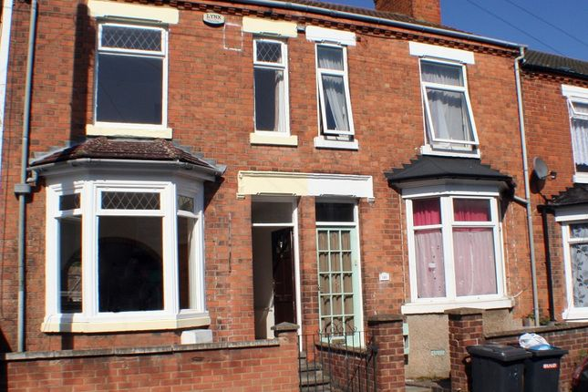 Thumbnail Terraced house to rent in Knox Road, Wellingborough, Northamptonshire.