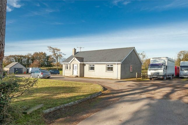 Thumbnail Detached bungalow for sale in Dundrod Road, Nutts Corner, Crumlin, County Antrim