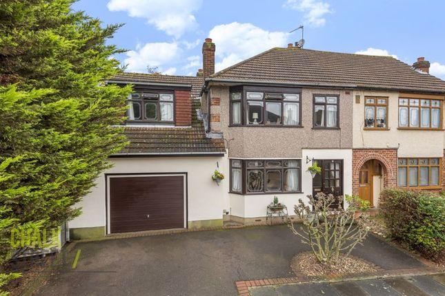 Thumbnail Semi-detached house for sale in Ravenscourt Close, Hornchurch