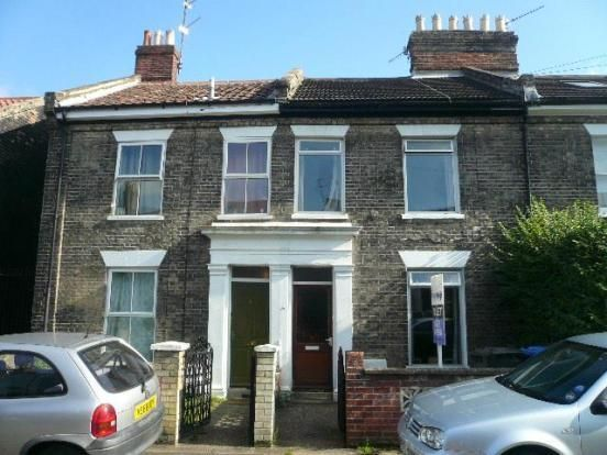Thumbnail Terraced house to rent in Gladstone Street, Norwich