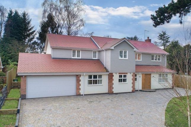 Thumbnail Detached house for sale in Stamford Road, Kirby Muxloe, Leicester