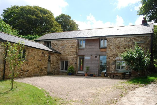 Thumbnail Detached house for sale in Gulval, Penzance