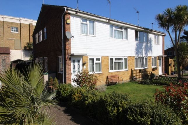 Thumbnail Flat for sale in Milford Close, Upper Abbey Wood, London