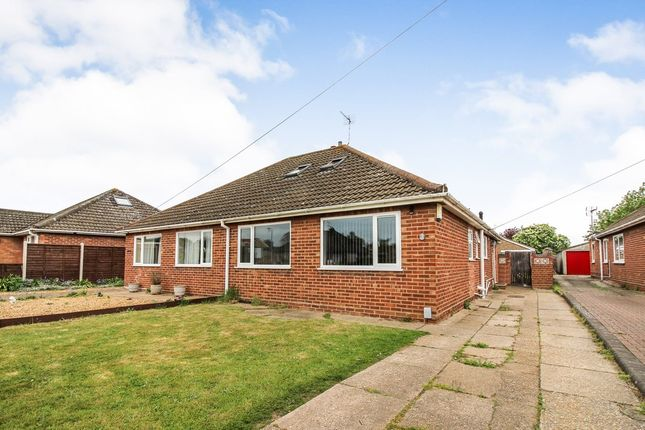 Thumbnail Semi-detached bungalow for sale in Thornham Road, Sprowston, Norwich