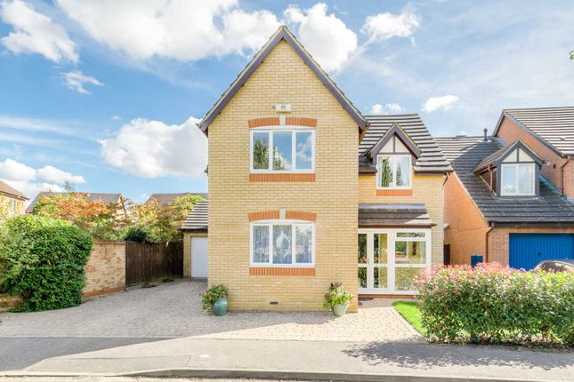 Thumbnail Detached house for sale in Sorrell Drive, Newport Pagnell