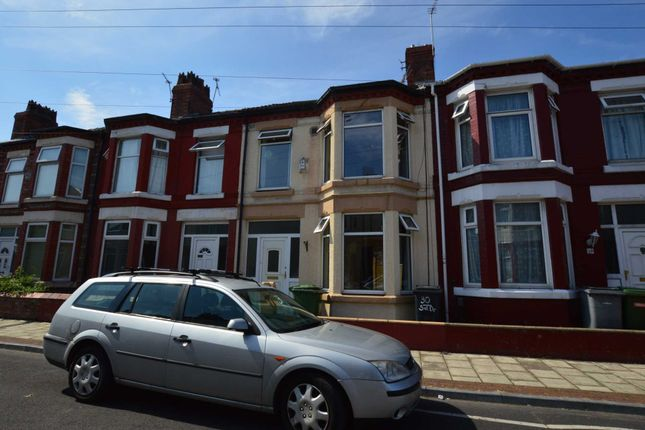 Thumbnail Terraced house to rent in Salisbury Drive, New Ferry, Wirral
