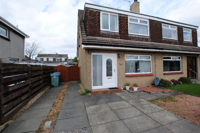 Thumbnail Semi-detached house for sale in Spey Road, Troon, South Ayrshire