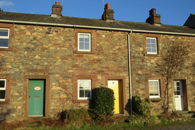 Thumbnail Terraced house for sale in Scaw Fell, Santon Village, Holmrook, Cumbria
