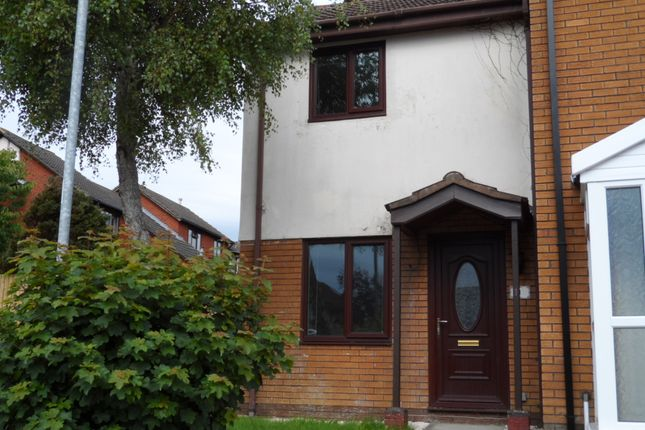 Thumbnail Semi-detached house to rent in Fairoak Chase, Bridgend