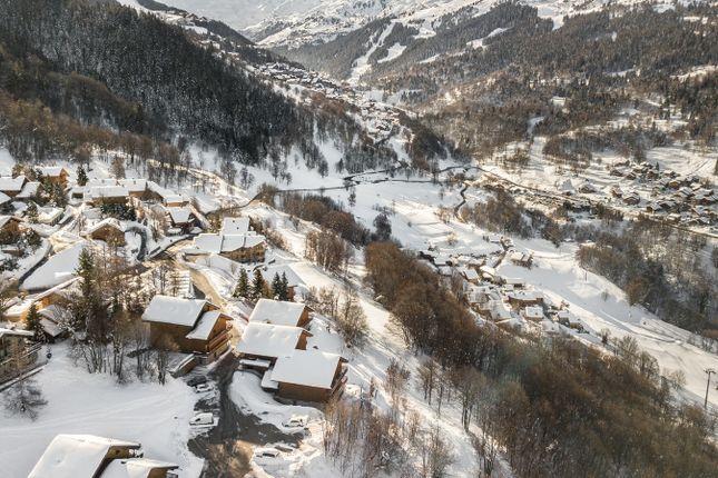 Location of Meribel, Rhone Alps, France