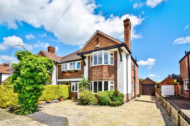 Thumbnail Semi-detached house for sale in Dunster Road, West Bridgford