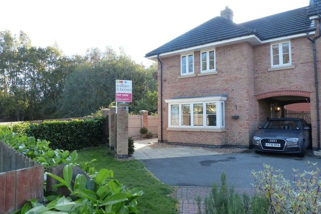 Thumbnail Semi-detached house for sale in Carnoustie Drive, Lincoln