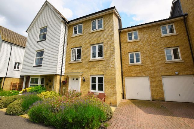 Thumbnail Town house for sale in Dove House Meadow, Sudbury