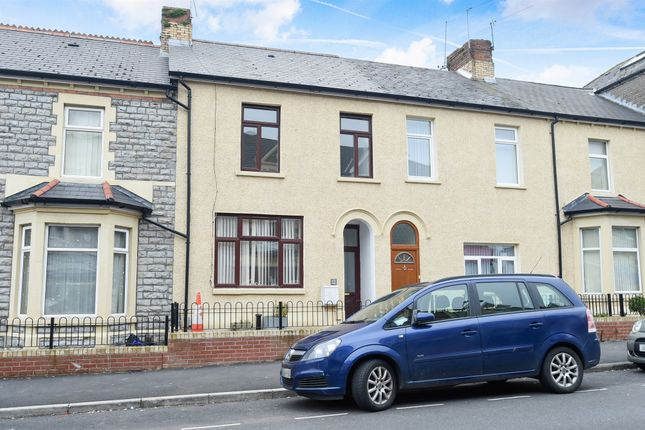 Thumbnail Terraced house for sale in Holton Road, Barry