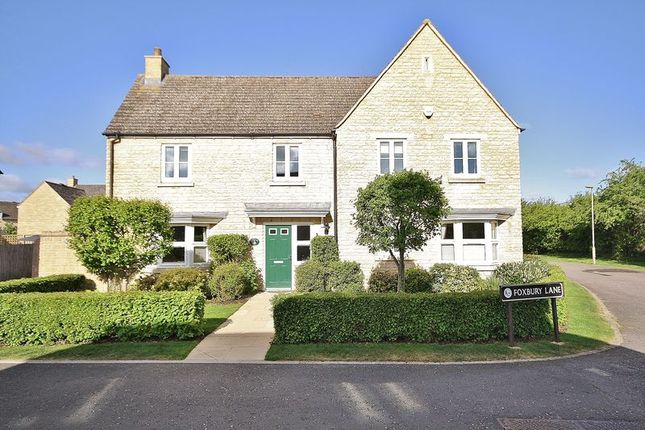 Thumbnail Detached house for sale in Carterton, Foxbury Lane, Shilton Park