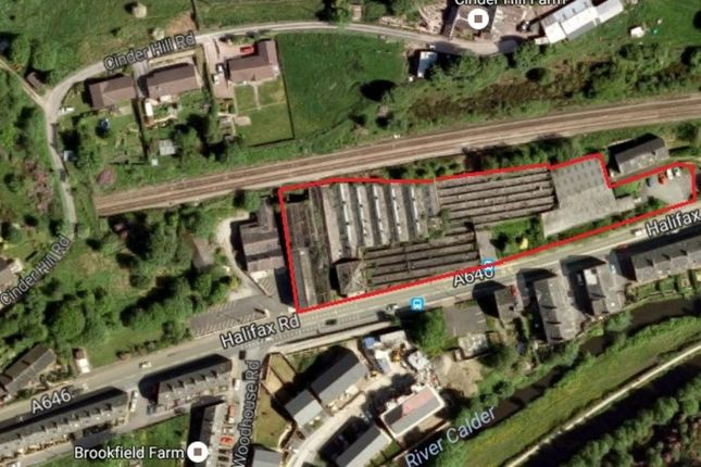Thumbnail Land for sale in Halifax Road, Todmorden
