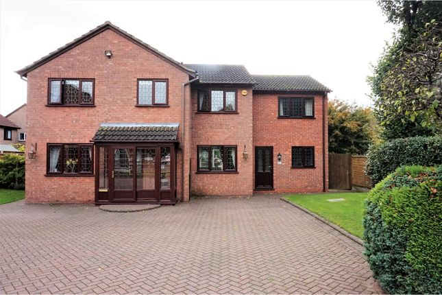 Thumbnail Detached house for sale in Dunley Croft, Solihull