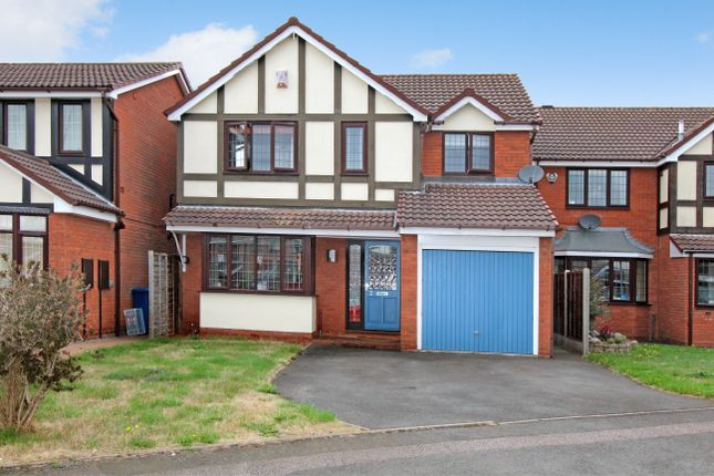 Thumbnail Detached house for sale in Cumberland Drive, Tamworth