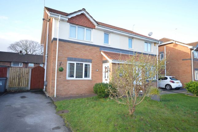 Thumbnail Semi-detached house for sale in Archers Green, Eastham, Wirral