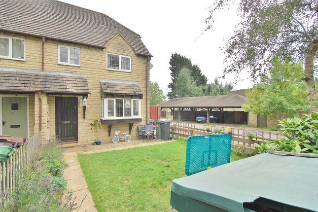 Thumbnail End terrace house for sale in Freame Close, Chalford, Stroud, Gloucestershire