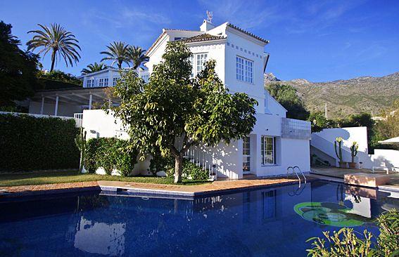 Villa And Pool of Spain, Málaga, Marbella