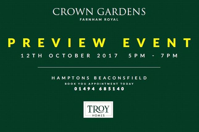 Thumbnail Detached house for sale in Crown Gardens, Crown Lane, Farnham Royal