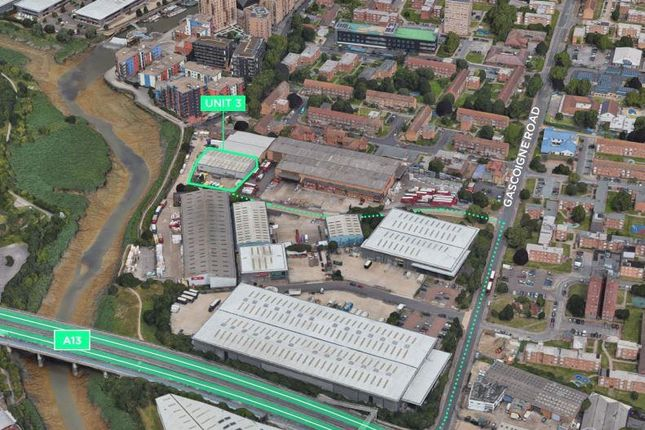 Thumbnail Warehouse to let in Unit 3 Valor Park East Circular, Gascoigne Road, Barking, Greater London