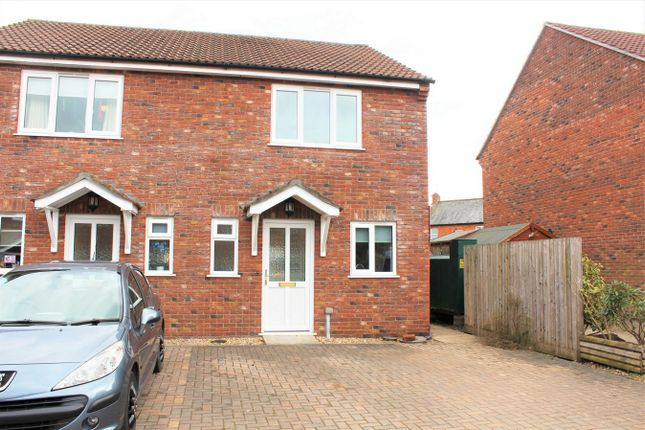 Thumbnail Semi-detached house to rent in Culmstock Road, Hemyock, Cullompton