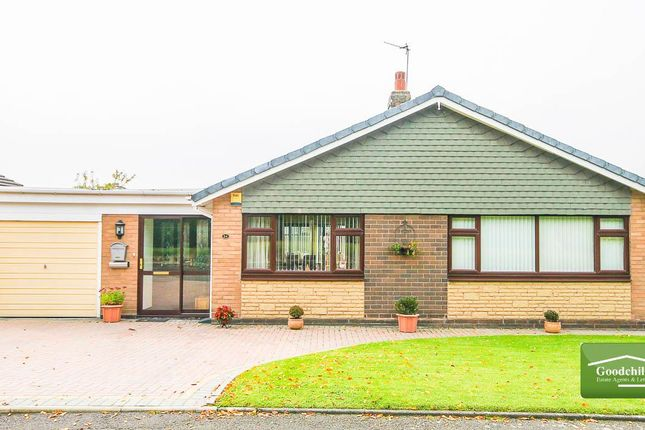 Thumbnail Detached bungalow for sale in Stafford Close, Bloxwich, Walsall