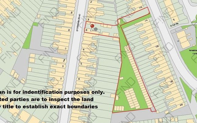 Thumbnail Land for sale in Sydenham Road, Smethwick