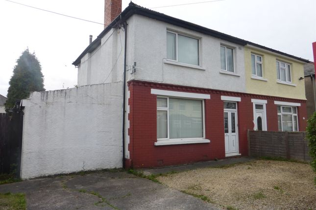 Thumbnail Semi-detached house for sale in Claremont Crescent, Rumney, Cardiff