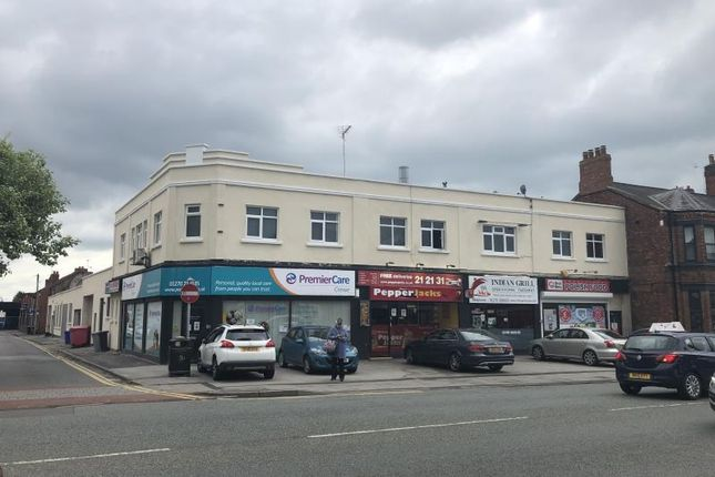 Thumbnail Retail premises for sale in 128, Nantwich Road, Crewe