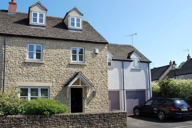 Thumbnail Semi-detached house for sale in Millers Mews, Witney, Oxfordshire