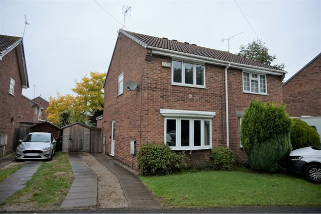 Thumbnail 2 bed semi-detached house to rent in Mondello Drive, Derby