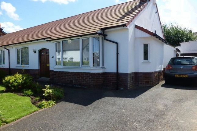 Thumbnail Semi-detached bungalow for sale in Manor Lane, Penwortham, Preston