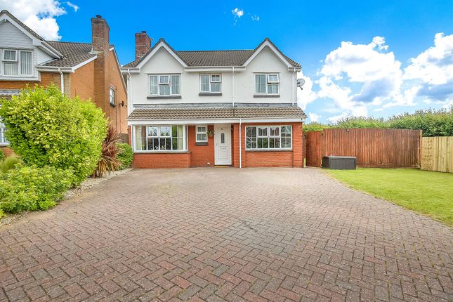 Thumbnail Detached house for sale in Celtic Way, Rhoose, Barry